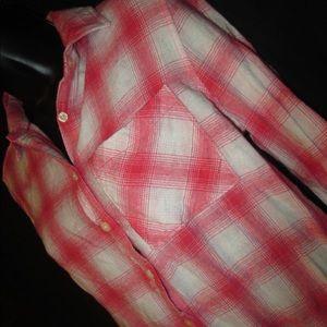Aeropostale Tops - Plaid shirt